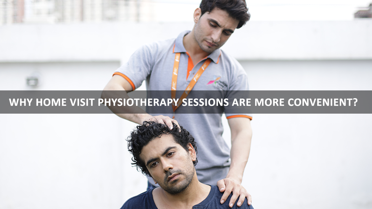 Physiotherapy session at home - Anvayaa