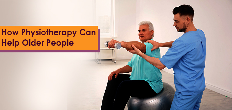 Physiotherapist helping old age person - anvayaa