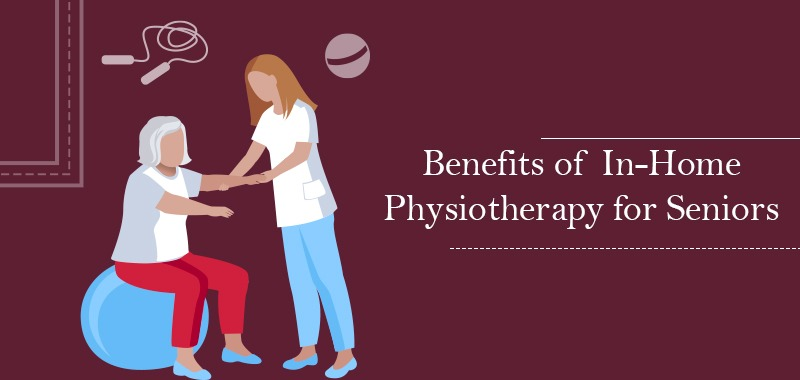 Physiotherapy for elderly vector
