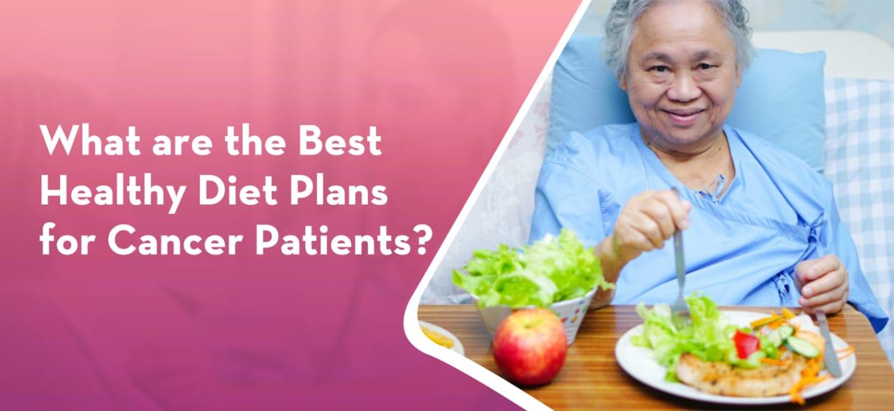 elderly cancer patient eating